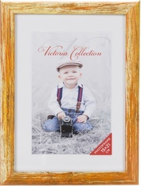 Victoria Collection Photo Frame Coral 15x21cm Yellow