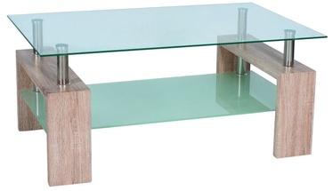 Kafijas galdiņš Signal Meble Modern Lisa II Sonoma Oak, 1100x600x550 mm