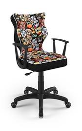 Детский стул Entelo Norm ST28, черный, 400x370x1010 мм