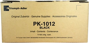 Triumph-Adler Toner Kit PK-1012/Utax Toner PK1012 Black