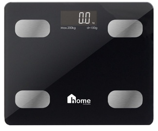 Overmax iBalance Bathroom Scale Black