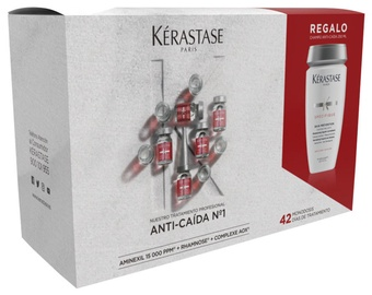 Kerastase Specifique Intense Anti Thinning Hair Care Ampoules 42x6ml + 250ml Bain Prevention Normalizing Frequent Use Shampoo