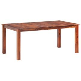 Söögilaud VLX Solid Sheesham Wood 288113, pruun, 1800 mm x 900 mm x 760 mm