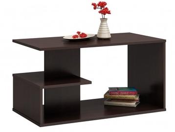 Kafijas galdiņš Top E Shop Dallas, brūna, 910x510x400 mm