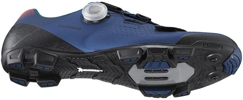 Велосипедная обувь Shimano MTB SH-XC501, синий, 44
