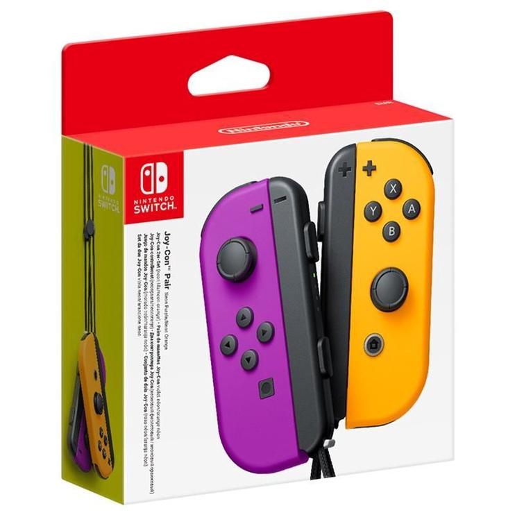 Nintendo Switch Joy-Con Pair Purple/Orange