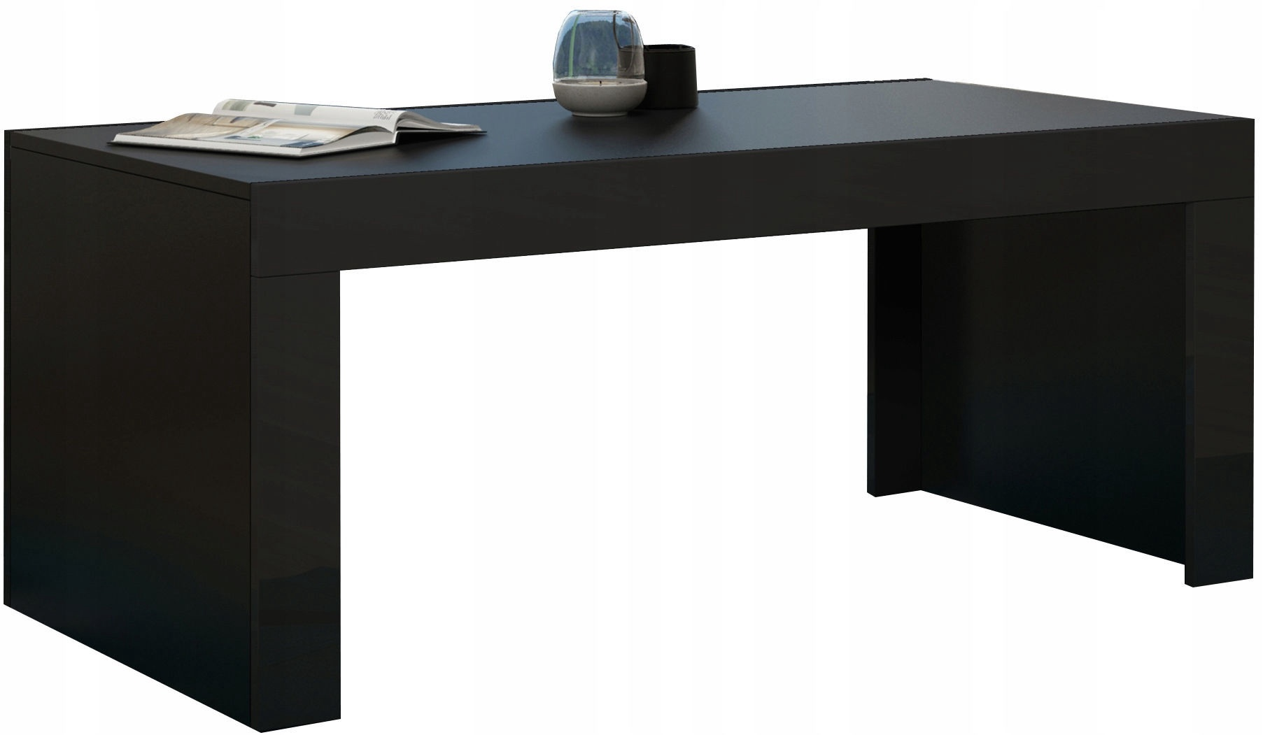 Coffee Table Desk.Pro Meble Coffee Table Milano Black