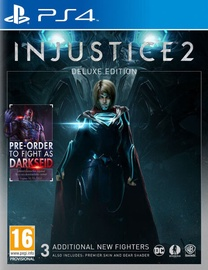 Игра для PlayStation 4 (PS4) Injustice 2 Deluxe Edition Incl. 3 DLC Fighters PS4