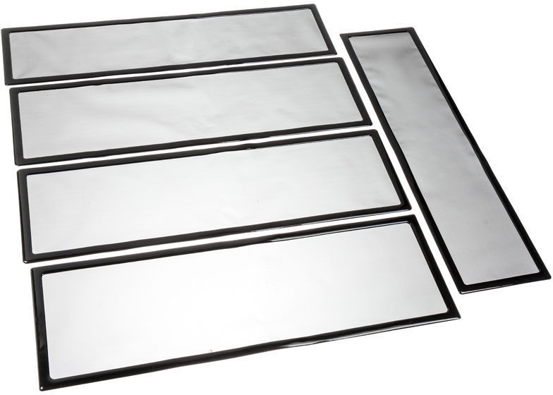 DEMCiflex Dust Filter Black DF0367 Set For CaseLabs STH10
