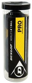 Dunlop 700110 Squashball PRO Tube 3pcs