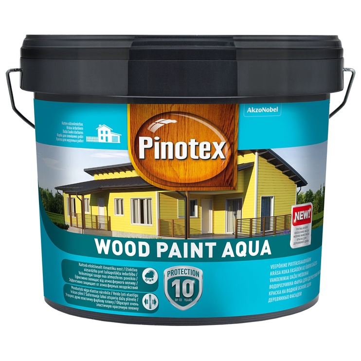 Pinotex Wood Paint Aqua, BM, 8,55 l