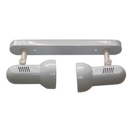 Lampa HD030 2x40W E27, balta