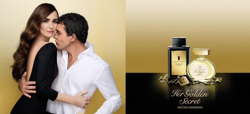Набор для женщин Antonio Banderas Her Golden Secret 2pcs Set 80 ml EDT