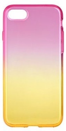 Mocco Gradient Back Case For Apple iPhone X Pink/Yellow
