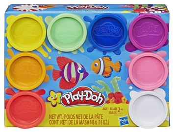 Hasbro Play-Doh 8pcs Pack Rainbow E5062ES1