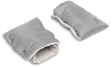 Перчатки для коляски Sensillo Minky, серый