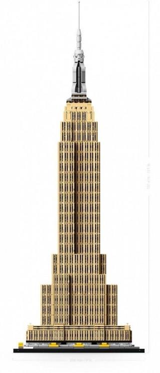 Lego blocks architecture  Empire State Building 21046