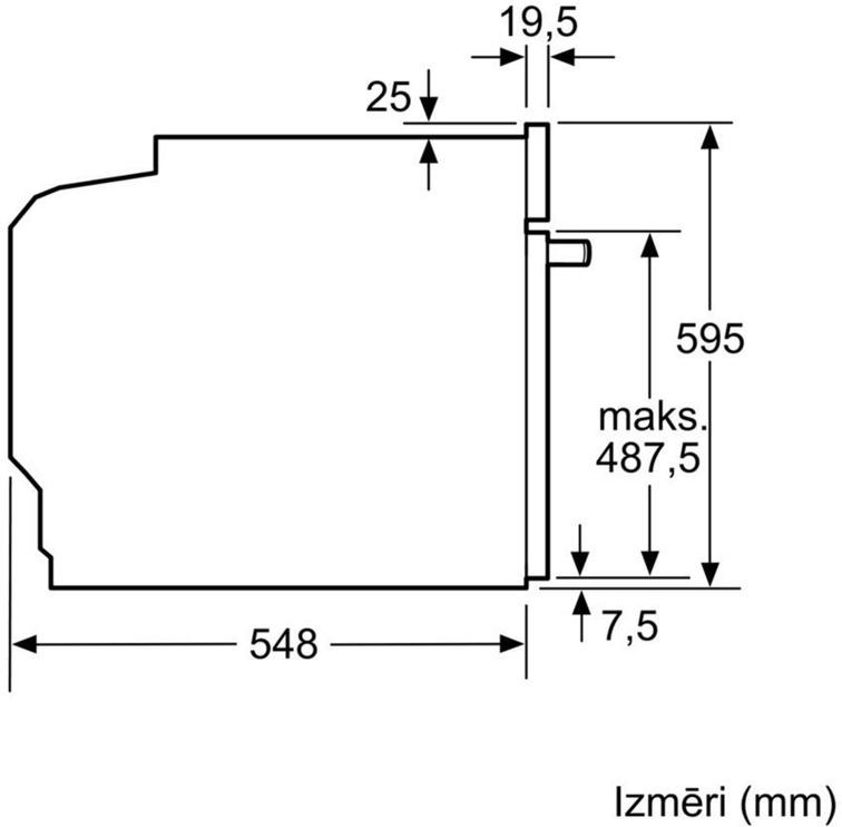 Bosch Serie 2 HBA530BS0S