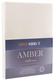 Voodilina DecoKing Amber Beige, 240x200 cm, kummiga