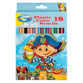 Centrum Plastic Color Pencils 18pcs