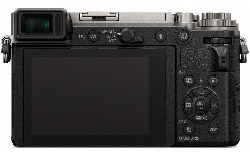 Panasonic LUMIX DC-GX9WE + 12-32 mm + 35-100 mm Black/Silver