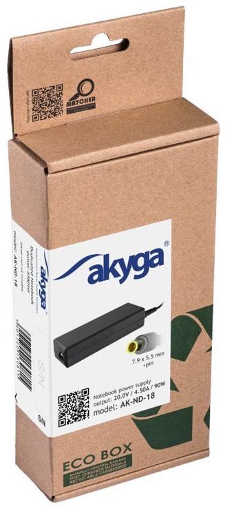 Akyga Power Adapter 20V/4.5A 90W 7.9x5.5+pin