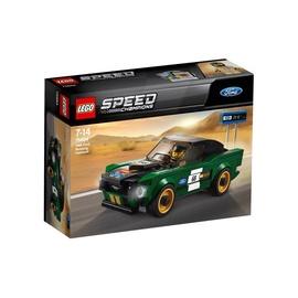Konstruktorius LEGO Speed Champions 1968 Ford Mustang Fastback 75884