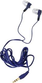 Ausinės Freestyle Universal In-Ear Stereo Earphones Blue
