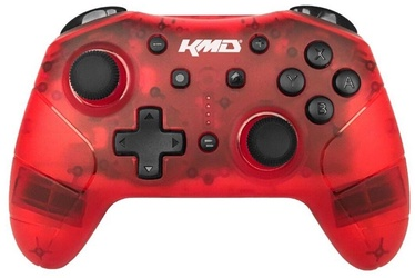 KMD Wireless Pro Controller with Turbo Red