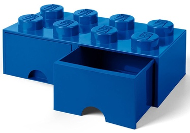 LEGO Storage Brick Drawer 8 Blue