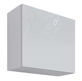 Cama Meble Vigo Square Cabinet White/White Gloss