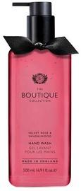 The English Bathing Company Boutique Hand Wash 500ml Velvet Rose & Sandalwood