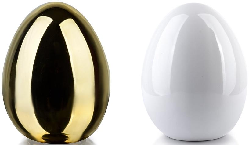 Фигурка Mondex Lila Egg Ceramic Figure Gold/White 13x15cm