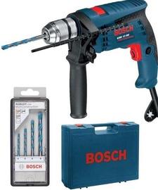Elektrinis smūginis gręžtuvas Bosch GSB13RE, 600 W