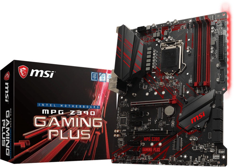 Mātesplate MSI MPG Z390 GAMING PLUS