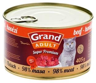 Kaķu konservi Grand Superpremium Liellops 405g