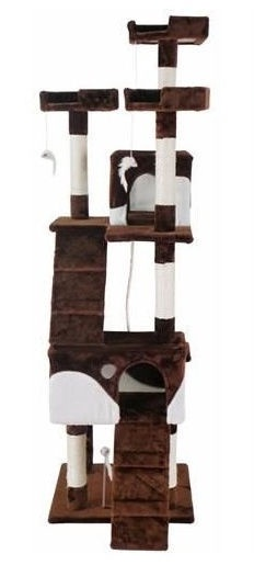 Когтеточка для кота Vangaloo Brown, 170 см