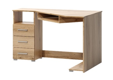 WIPMEB Tatris 17 Desk Left Sided Wotan Oak