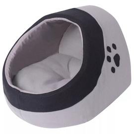 Кровать для животных VLX Cubby L, черный/серый, 300 мм x 330 мм