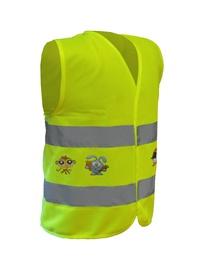 Светоотражающий жилет 6001XS Reflective Vest for Kids Yellow XS