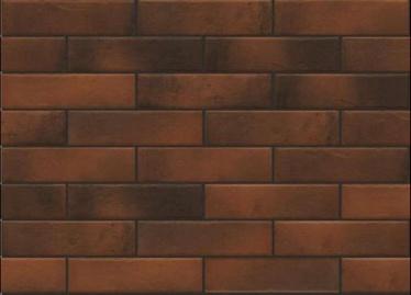 Klinkerinės plytelės Retro Brick Chili, 24.5 x 6.5 cm