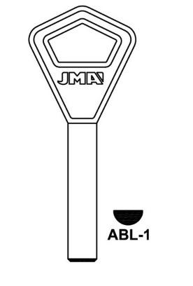 Raktų ruošinys Jma ABL-1, 1 vnt.