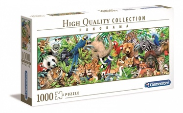 Clementoni Panorama Puzzle High Quality Wildlife 1000pcs 39517