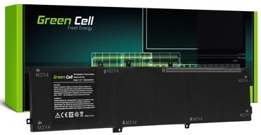 Sülearvutiaku Green Cell 6GTPY 5XJ28, 8000 Ah, LiPo