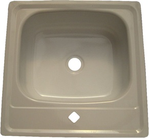 Santex Enameled Sink 500x500mm