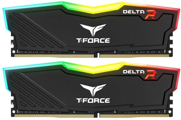 Team Group Delta RGB 16GB 3000MHz CL16 DDR4 KIT OF 2 TF3D416G3000HC16CDC01