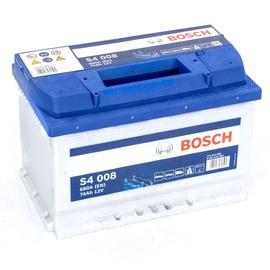 Aku Bosch S4, 12 V, 74 Ah, 680 A