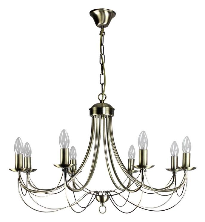Griestu lampa Futura MD9668-8 8x60W E14