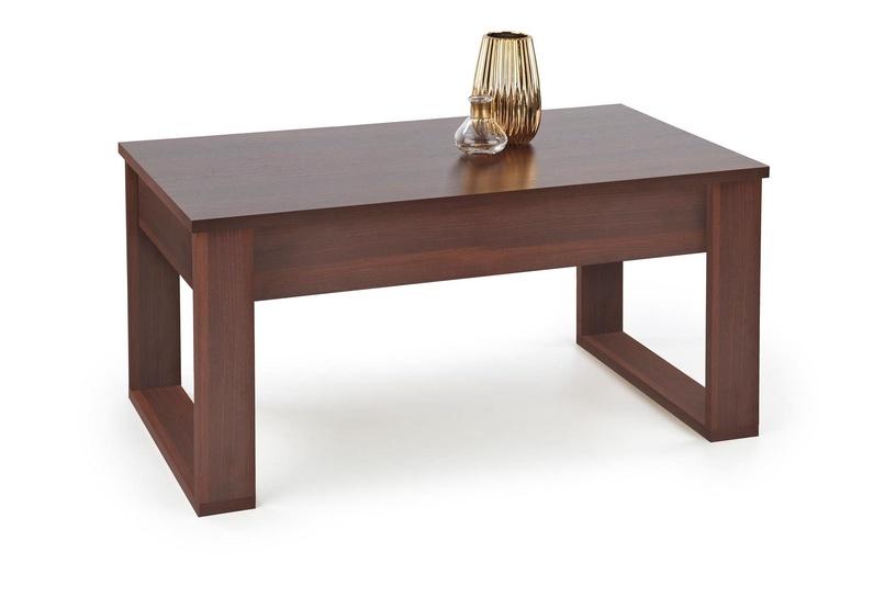 Kafijas galdiņš Halmar Nea Dark Walnut, 1100x600x520 mm