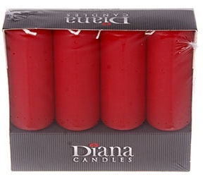 Diana Candles Christmas Advent Candles Red 353113
